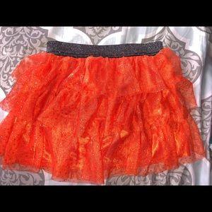 Other - Sparkly orange Halloween tutu